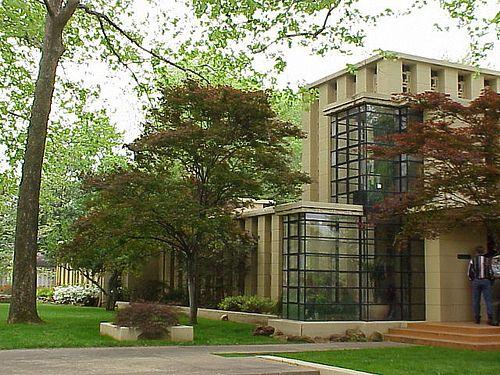 Frank Lloyd Wright Richard Lloyd Jones House Tulsa Ok 1929