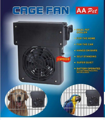 13 99 17 99 Pet Cage Cooling Fan 2 Speed Keep Your Pets Cool