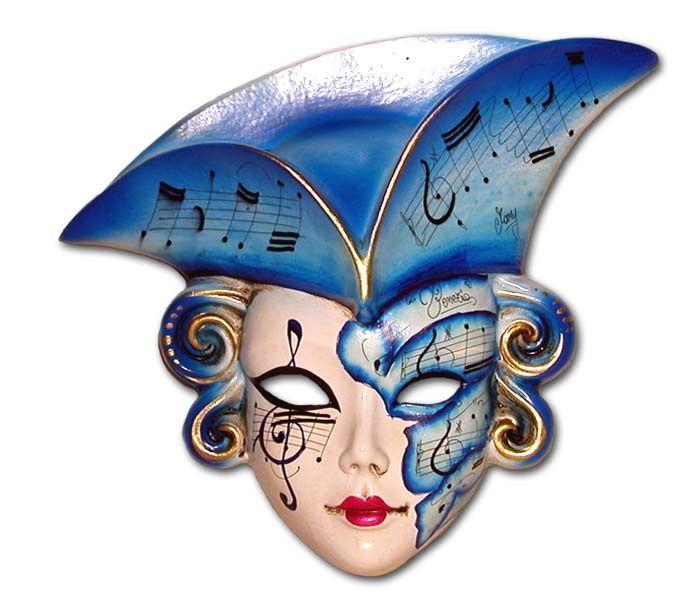 Maschera Carnevale Di Venezia E Di Viareggio Maschere Carnevale