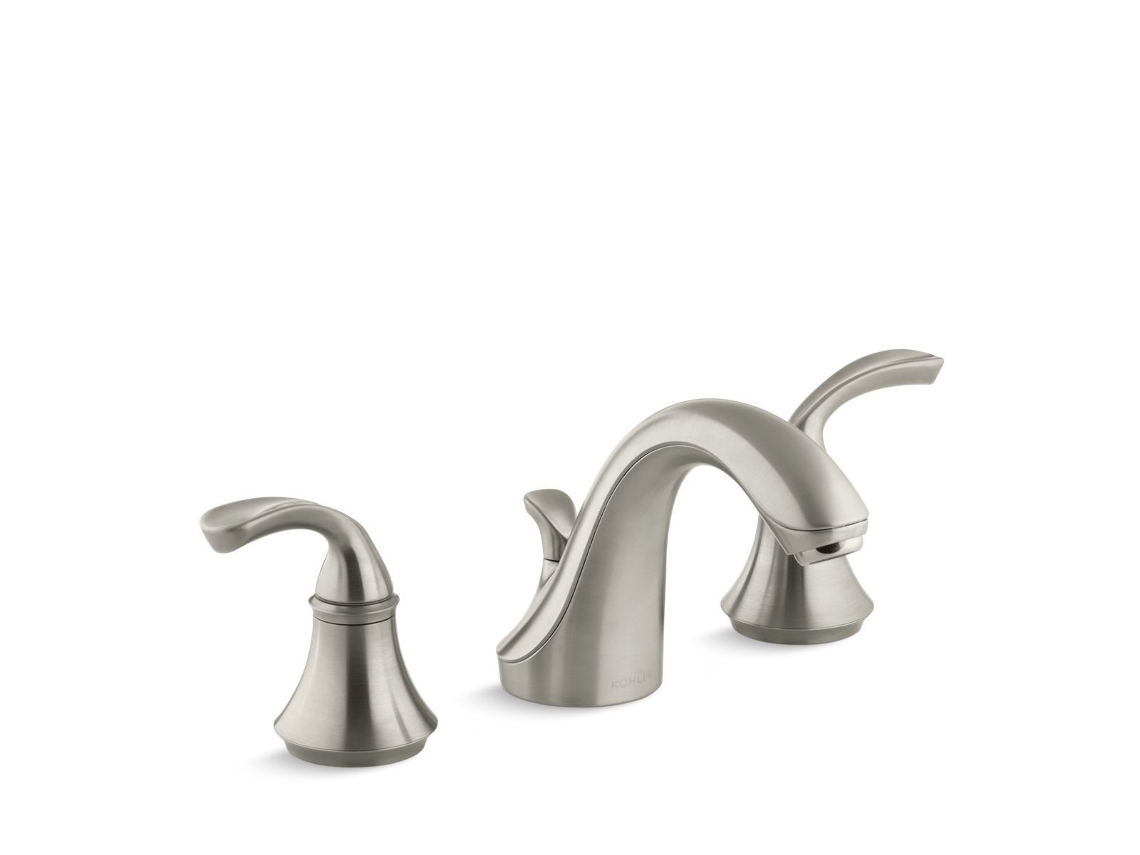 K-10273-4 | Forté® widespread bathroom sink faucet with sculpted ...