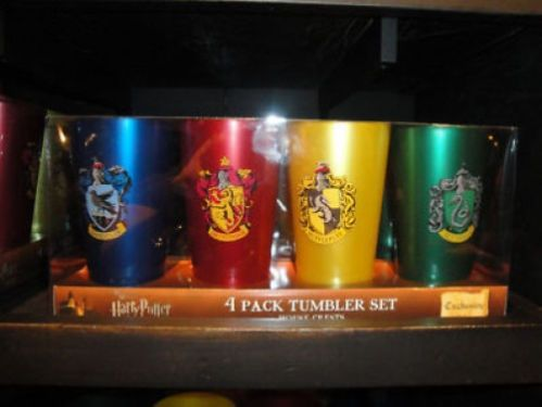 Wizarding World of Harry Potter House Tumbler Set | eBay $22.89