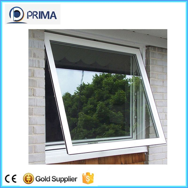 Security Tempered Glass Modern Design Aluminum Awnings Window Awning Windows Kitchen Window Prices Awning Windows