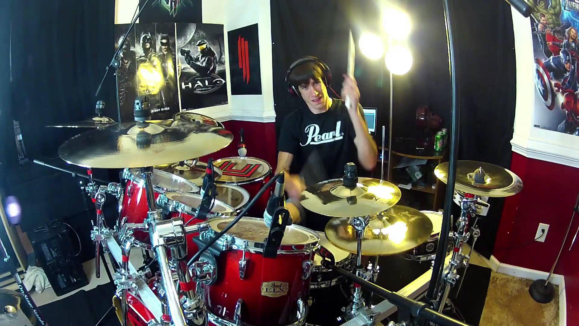Rush Drum Cover Yyz Tom Sawyer Spirit Of Radio Red