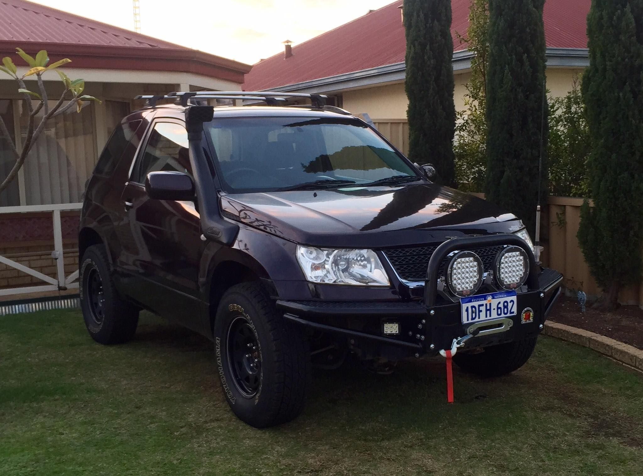 Suzuki Grand Vitara Vehicle Accessories 4x4 Accessories