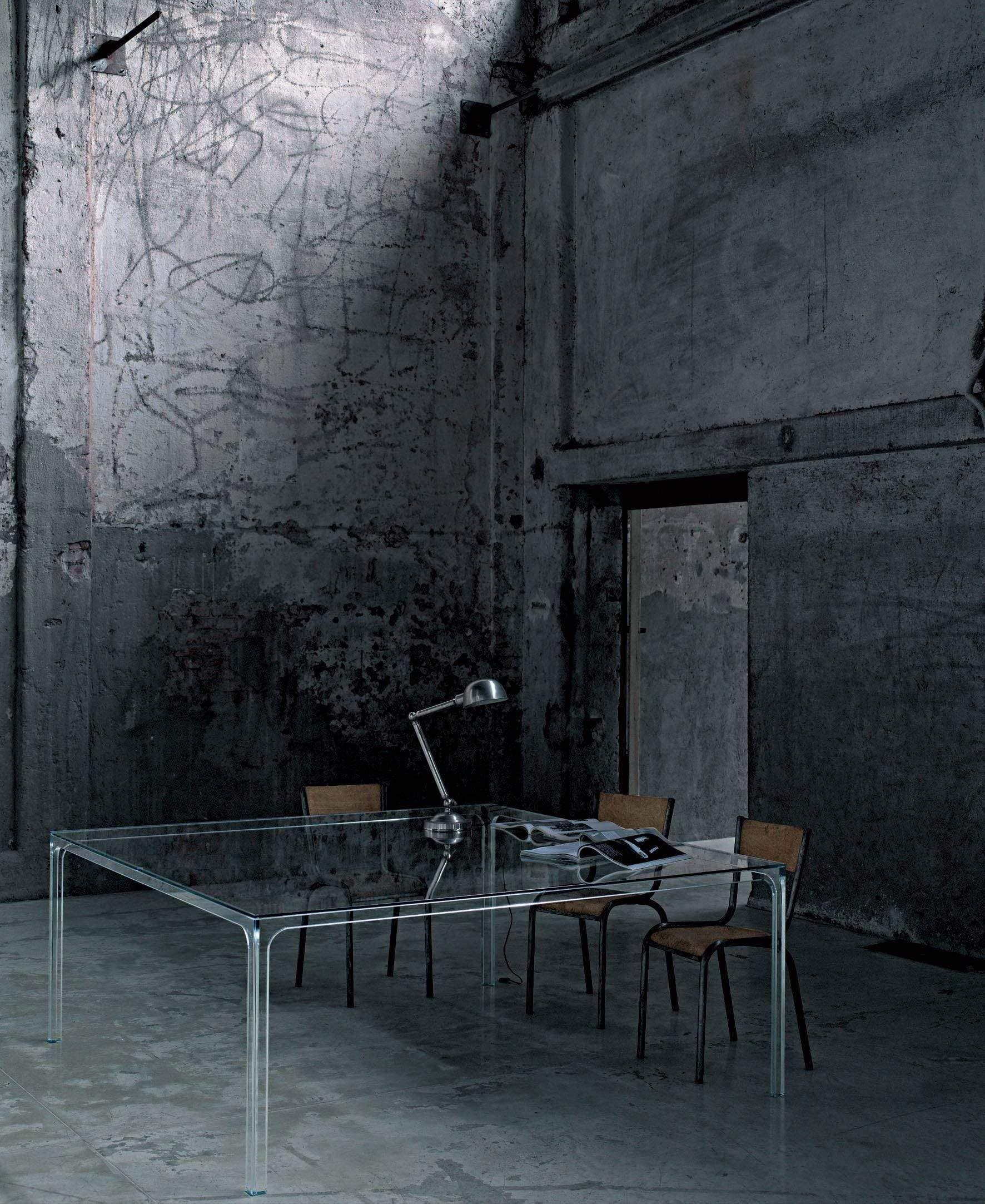 Oscar Writing Desk in 2021 | Glass table, Interior design ...