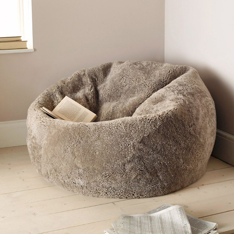 Beanbag Made Of Sheepskin Authentic And Unique
