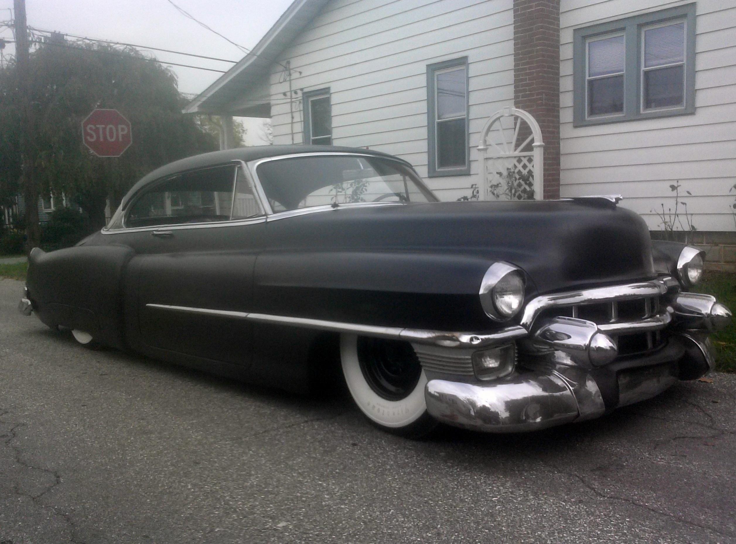 custom bagged 53 cadillac series 62   deVille   Pinterest   Cadillac