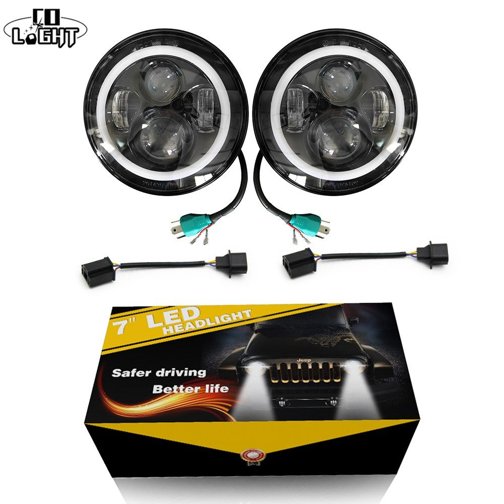 Cheap Price Us 91 79 Co Light 2pcs 7 Inch Led Driving Light 50w 30w