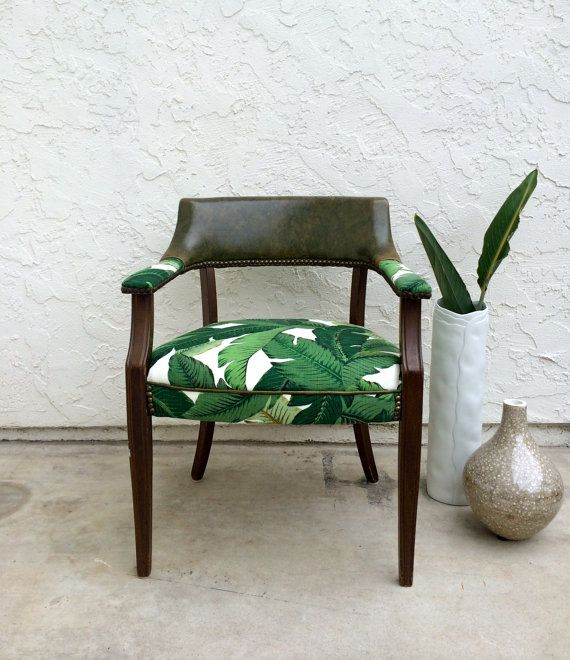 Green Upholstered Chairs