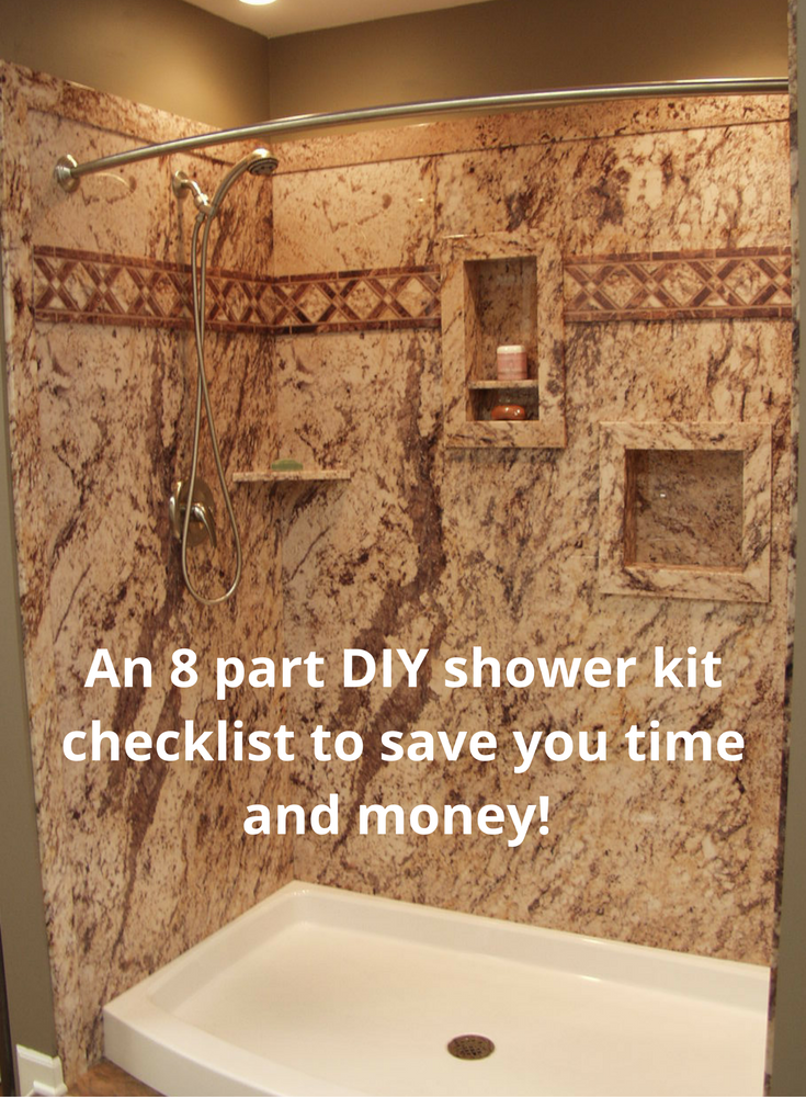 A Proven 8 Part DIY Shower Kit Checklist Saves Time And Money