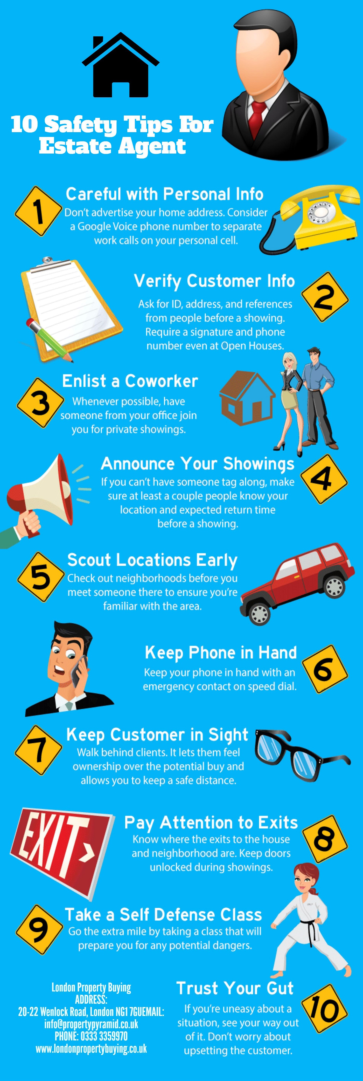 10 Safety Tips For Estate Agent