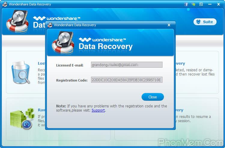 تحميل برنامج استرجاع الصور بعد الحذف Wondershare Photo Recovery 2.0.2.0