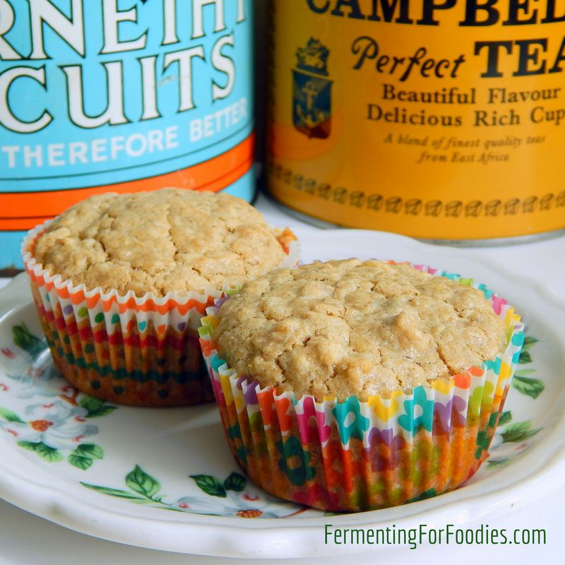 Buttermilk Oatmeal Muffins 8 Flavour Options Fermenting For Foodies Recipe Oatmeal Muffins Flavors Muffin Flavors
