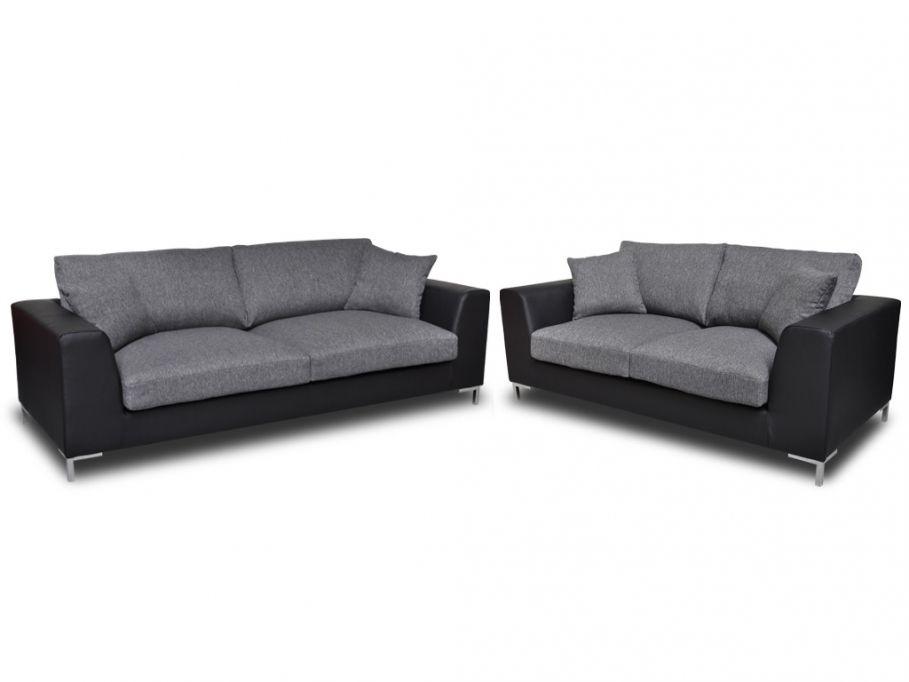 Couchgarnitur Stoff 3+2 Fabiola günstig kaufen I Möbel