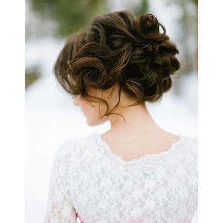 Coiffure de mariée Chignon flou `·LaMariée