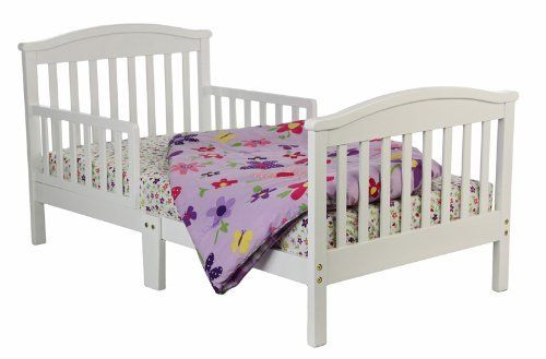 Dream On Me Mission Collection Style Toddler Bed, White ...