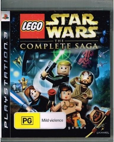 Lego Star Wars - The Complete Saga | My Favourite Games | Pinterest ...