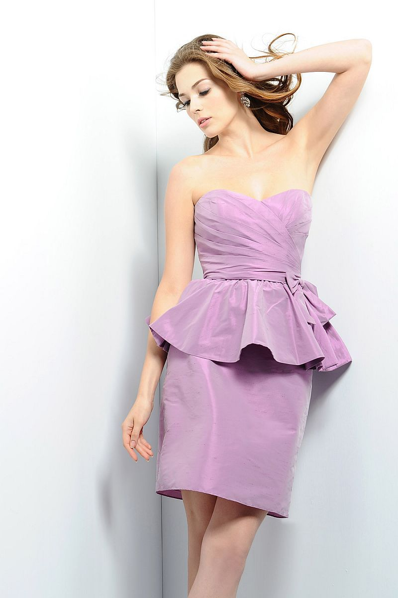 I like the peplum but donut know how flattering it is wedding