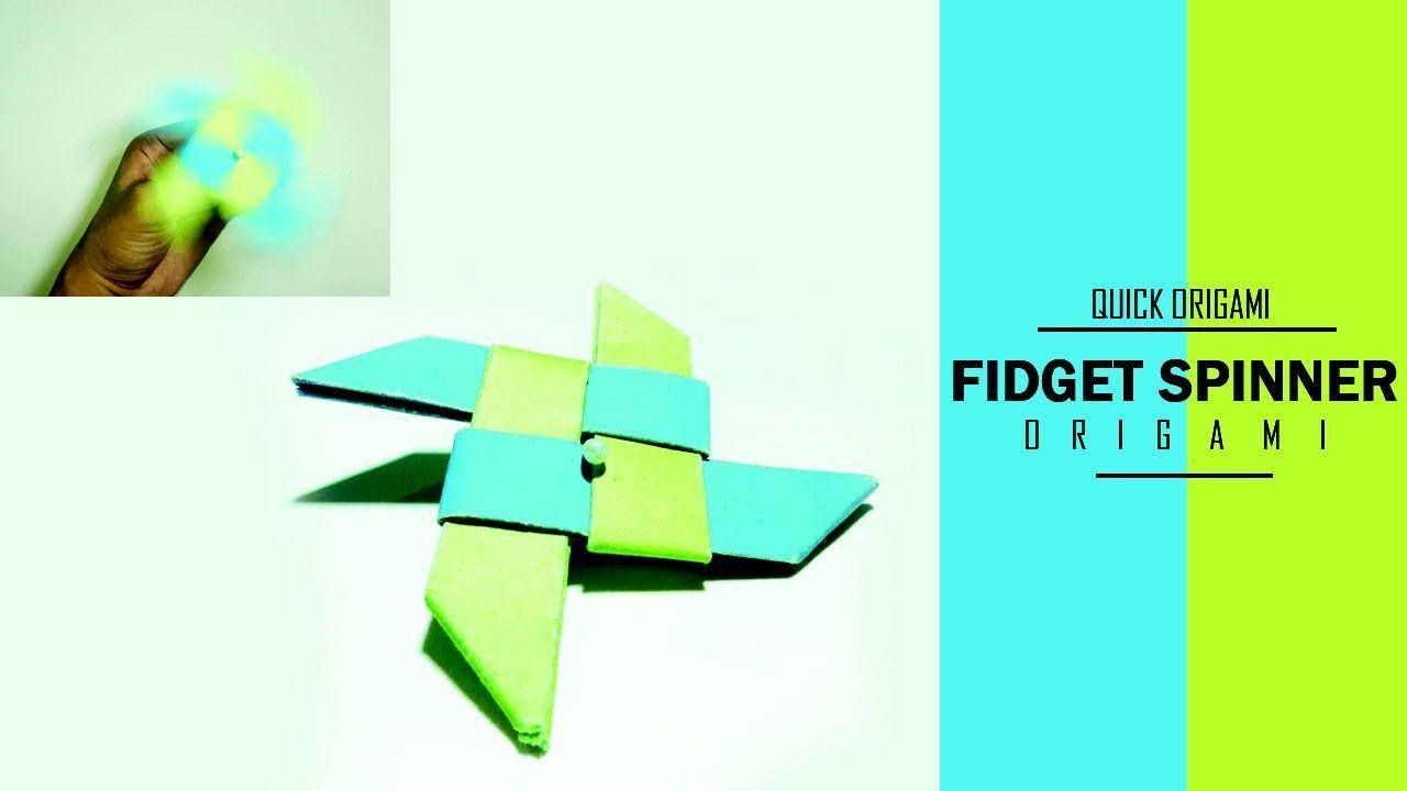 Easy origami ninja fidget spinner for kidssuper fast fidget easy origami ninja fidget spinner for kidssuper fast fidget spinnerbes jeuxipadfo Gallery