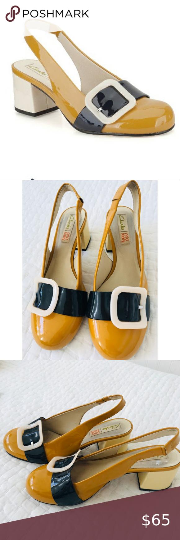 Contento años Caducado  Clarks Orla Kiely Shoes US Size 7 in 2020 | Orla kiely shoes, Shoes, Clarks