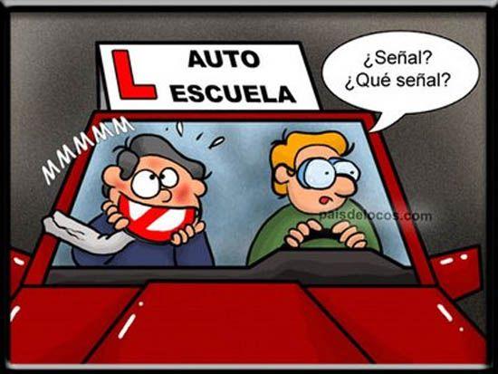 Publicidad Autoescuela Escuela Carnet De Conducir