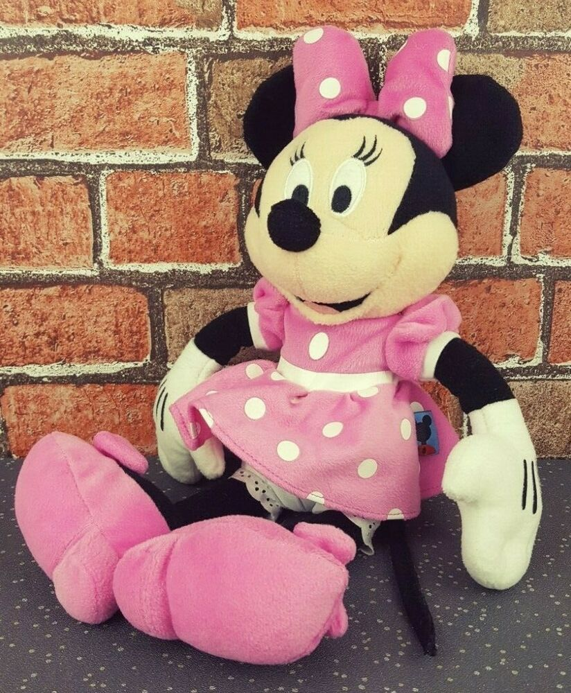 Disney Mickey Mouse Club House Minnie Mouse Plush Soft Toy