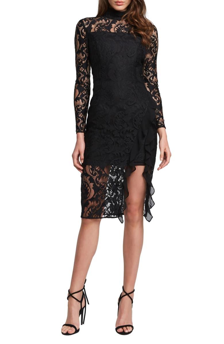 Bardot Dionne Long Sleeve Lace Cocktail Dress Nordstrom Long Sleeve Lace Cocktail Dress Long Sleeve Cocktail Dress Cocktail Dress Lace [ 1196 x 780 Pixel ]