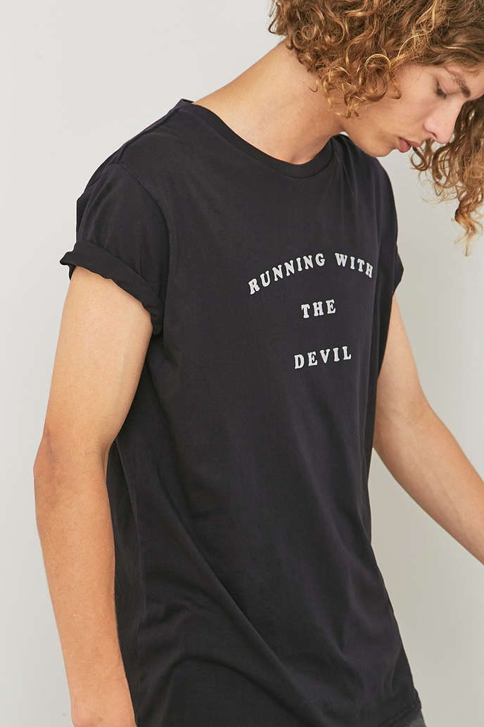 Rollas Running with the Devil T-shirt - Urban Outfitters