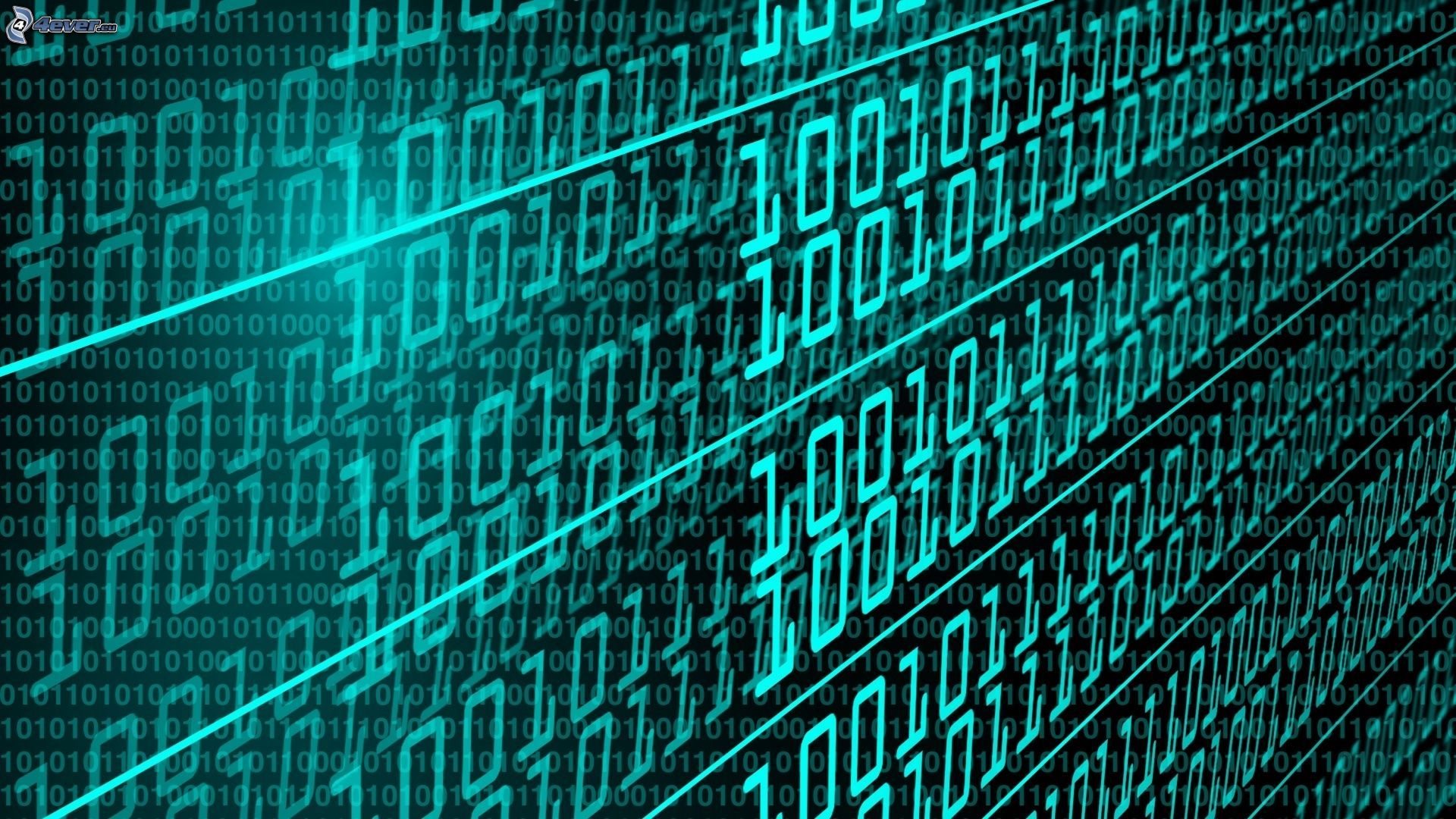 Binary Code Art Binary code, numbers