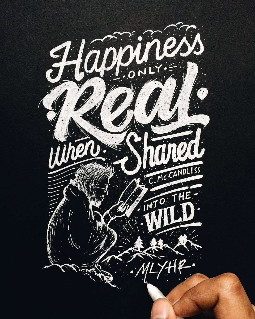 Curated gallery of top lettering calligraphy and typography works