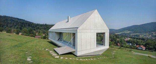 Maison Koniecznys Ark En Pologne Par Robert Konieczny