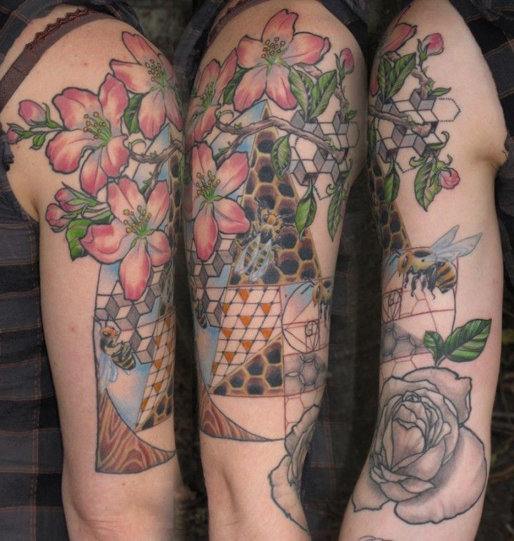Geometric Tattoos Portland: Sacred Geometry-1 Brian Wilson
