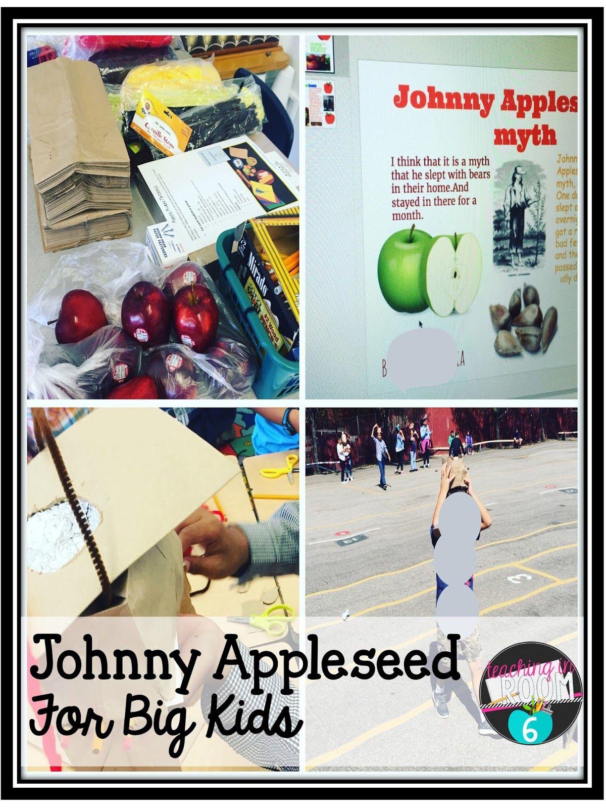 Johnny Appleseed For Big Kids