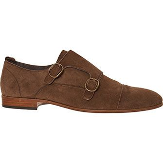Paolo Sartori Chocolate Brown Suede Oxford Shoes