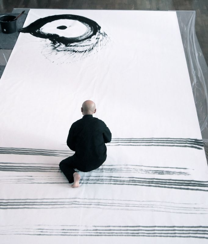 Yu-ichi Inoue (1916-1985) is a famed calligrapher