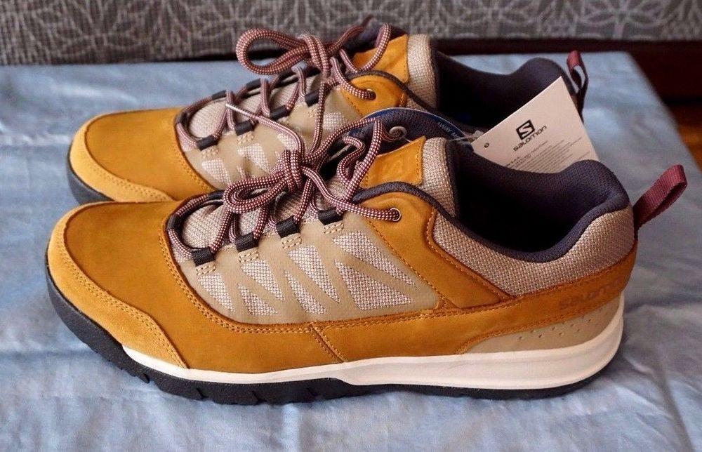 Salomon Instinct Travel Retro Style CasualHiking Shoes New
