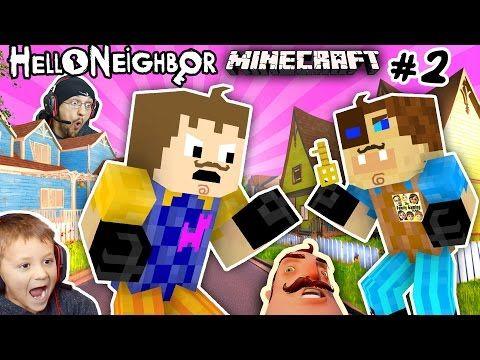 Minecraft Spielen Deutsch Minecraft Hello Neighbor Spielen Bild - Minecraft hello neighbor spielen