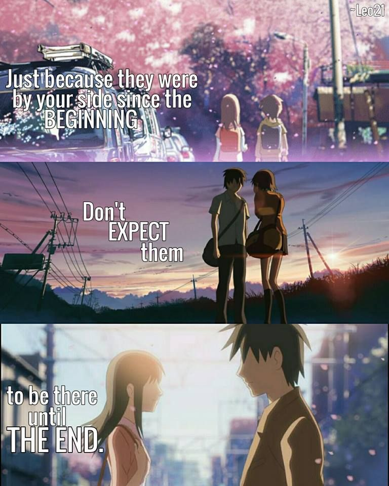 Anime 5 Centimeters Per Second Quotes Anime Sad Anime Quotes