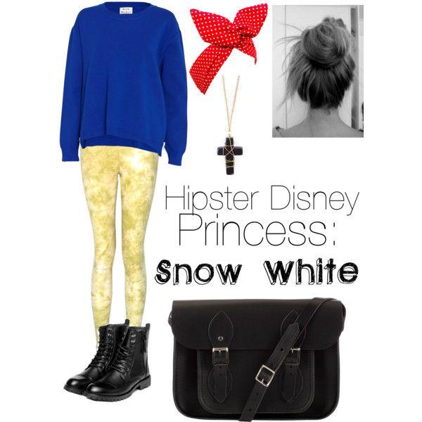 Hipster Disney princess: Snow White