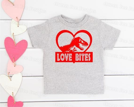 Download Valentine's Day svg / Love svg / Love Bites svg / dinosaur ...