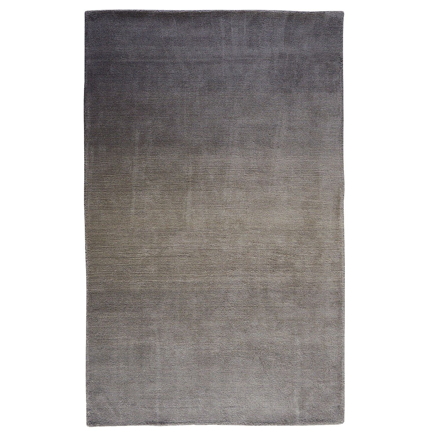 Gray Ombre Rug - Charcoal 8x10