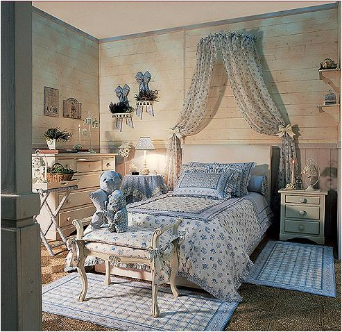 29 Country Young Girls Bedrooms ~ Room Design Ideas | House & Home ...