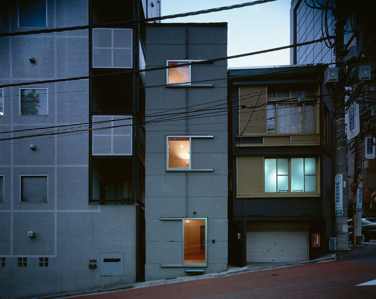 atelier nishikata architecture exterior pinterest einfamilienhaus und architektur. Black Bedroom Furniture Sets. Home Design Ideas