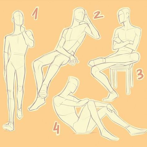Photo of Drawing Reference Poses Male Sketch 29+ Ideas
