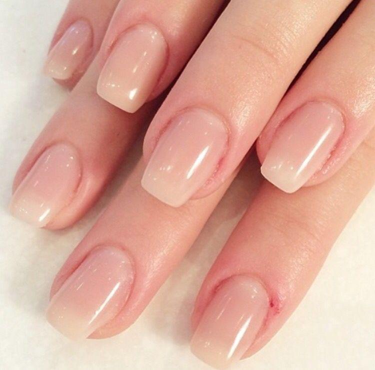 Hard Gel Extensions Gel Overlay Nails Nail Extensions Natural Gel Nails