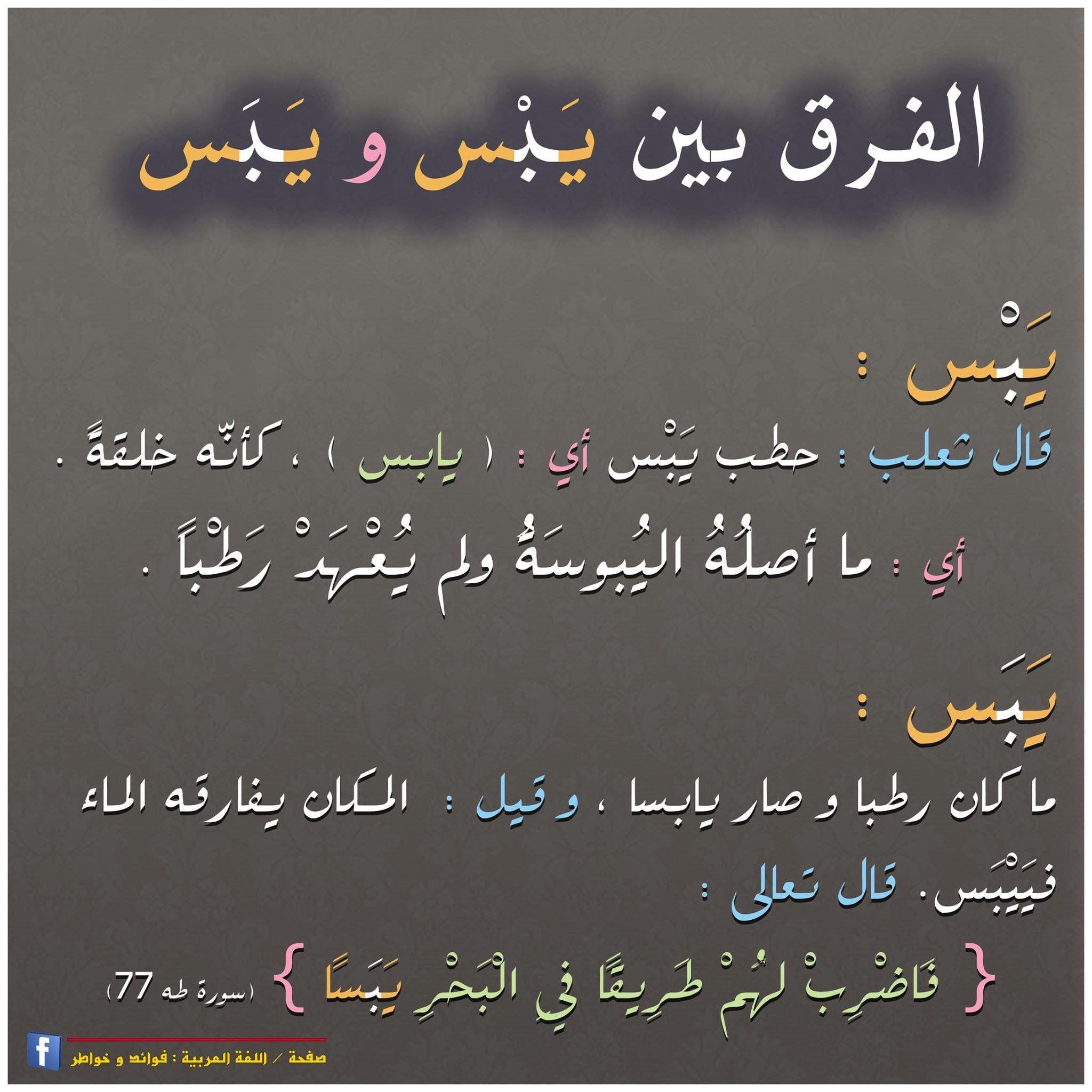 ي ب سا ٧٧ طه Learning Arabic Learn Arabic Language Arabic Language
