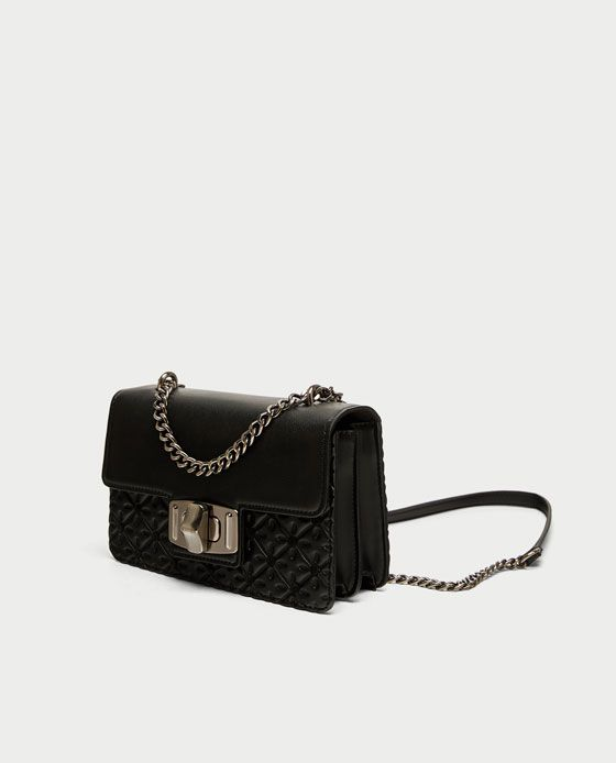 64ab729a Image 1 of CONTRASTING CROSSBODY BAG from Zara | Accessaries I want ...