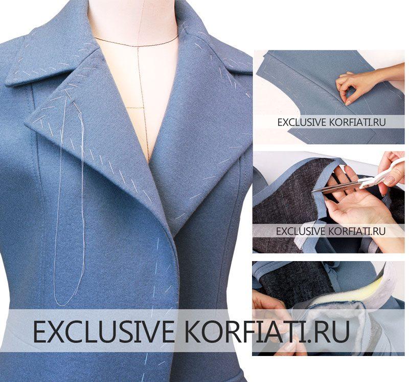 Мастер-класс по пошиву пальто | Пальто, Пошив модной ...