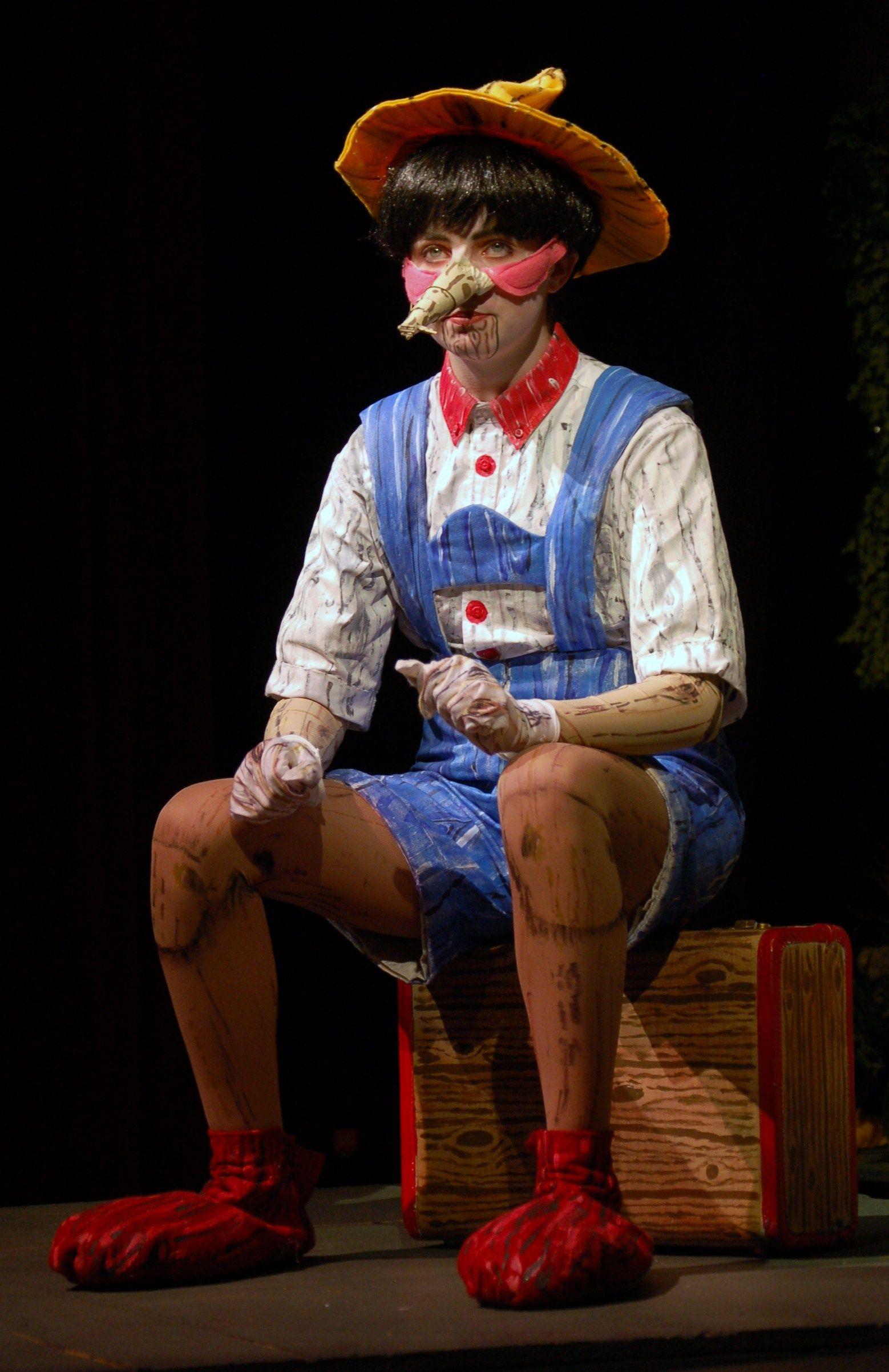 Pinocchio With Wood Suitcase Shrek Costume Pinocchio Shrek