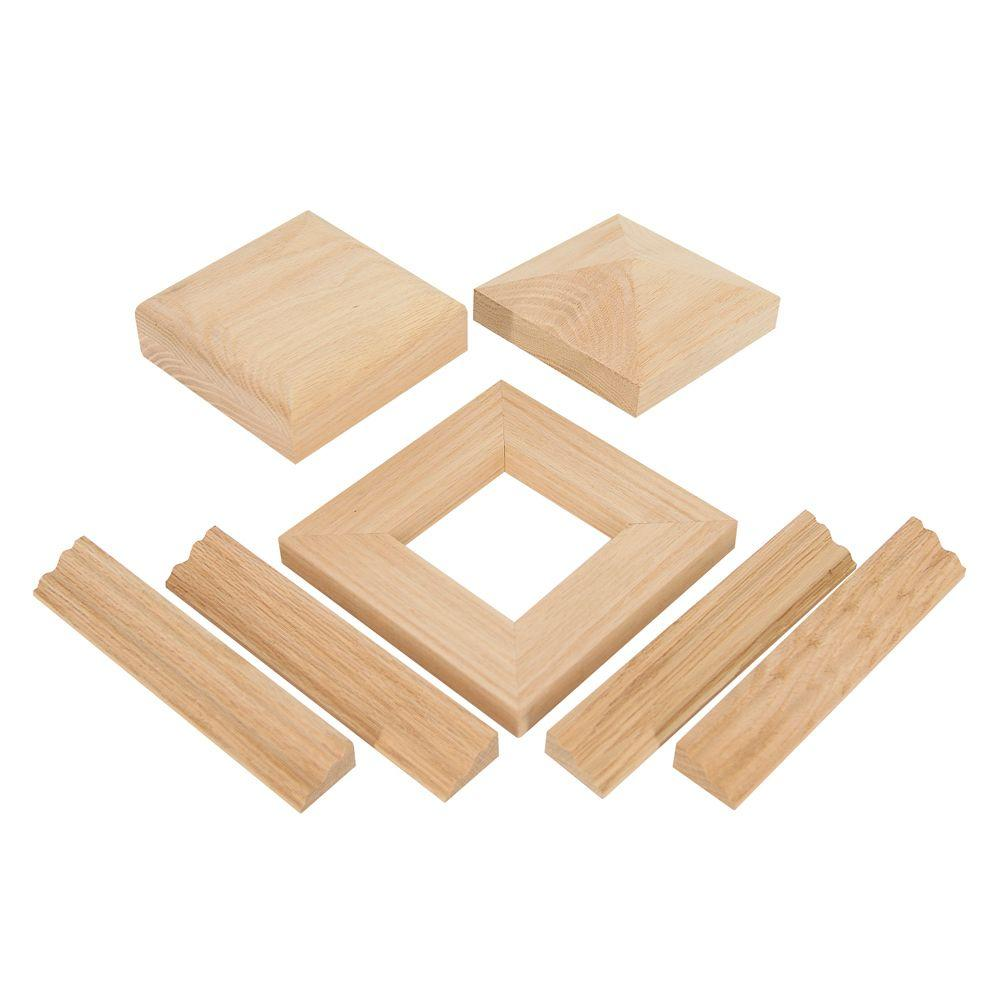 Best Stair Parts Nc 75 Hard Maple Radius Newel Cap Kit Stairs 400 x 300